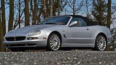 2002 Maserati Spyder Cambiocorsa F1 Maserati Quattroporte Gts, Maserati 3200 Gt, Detroit Motors, Six Speed, Elegant Sophisticated, Alloy Wheel, F1, Touring, Convertible