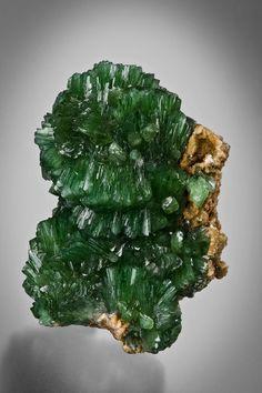 Ludlamite - San Antonio Mine, Santa Eulalia District, Chihuahua, Mexico