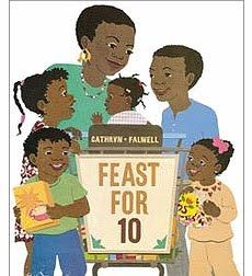 Feast for 10: A wonderful counting book that follows a family dinner from store to table.
