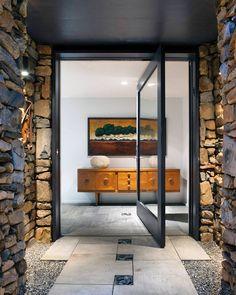 Front Door Design, Entrance Design, House Entrance, Modern Architecture House, Architecture Design, Architecture Interiors, Asheville, Casa Loft, Contemporary Front Doors