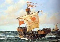 The cog, a medieval merchant ship that was widely used in the middle ages.