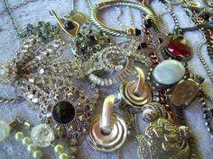 Vintage to Now Jewelry Lot*Lia Sophia*KJL*Emmons*Juicy*Chicos*Marvella*Monet*