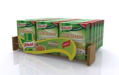 KNORR MI ARROZ by Israel Rincón Vidauri at Coroflot.com Point Of Sale, Point Of Purchase, Shelf Talkers, Brain Storm, Store Counter, Pop Display, Retail Design, Israel, Projects To Try