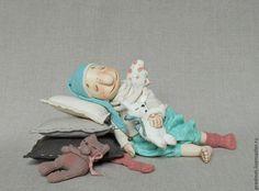 Купить Сонное царство - сонный ангел, сонный мальчик, мальчик-ангел, ангелочек, спящий ангелочек
