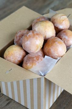 Glazed Gluten Free Donut Holes - Gluten-Free on a Shoestring