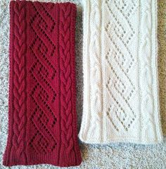 Ravelry: Coventry Cables & Lace Scarf pattern by Donna Brooks Knitting Blogs, Lace Knitting, Knitting Stitches, Knitting Patterns Free, Knit Patterns, Crochet Lace, Lace Scarf, Diy Scarf, Knit Cowl
