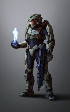 Master Chief - Spartan 117 by Kuren.deviantart.com on @deviantART