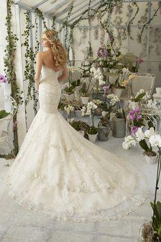 Mori Lee Wedding Dresses - Style 2801