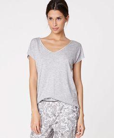 d8091f7e49 Contrasting double top - OYSHO Pyjamas