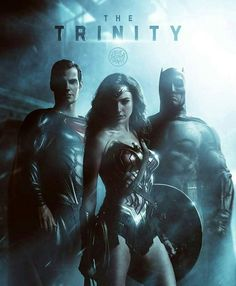 Justice League Movie Characters Superman, Wonder Woman and Batman for the Trinity - DigitalEntertainmentReview.com