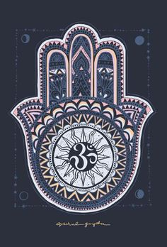 The Hamsa Hand is a universal sign of protection, power and strength that dates back to ancient Mesopotamia. Known as the Hand of Fatima in Islam and Hand of Mi