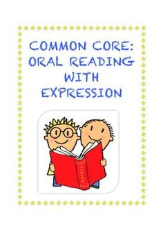 Common Core Reading Foundational Skills Grades 1-5: Read grade-level prose and poetry orally with accuracy, appropriate rate, and expression. $