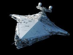 VSD Class ~ ArtStation - Victory-class Star Destroyer, Ansel Hsiao