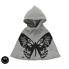 Beautiful Butterfly poncho to complete your outfit of the day. Definitely a must-have in your little one's wardrobe  #kidsfashion http://www.fyglia.com/
