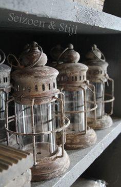 *Rustic Lanterns