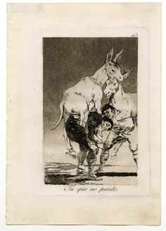 They who Cannot : Francisco Goya : Romanticism : capriccio - Oil Painting Reproductions Francisco Goya, Spanish Artists, Art Database, Aragon, Romanticism, Old Master, Museum Of Fine Arts, Gravure, Art History