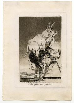 Los Caprichos de Goya-  Las clases útiles de la sociedad llevan todo el peso de ella, o los verdaderos burros a cuestas. P. ¿Quién no dirá que estos caballeros son caballerías? BN. Los pobres y clases útiles de la sociedad que llevan a cuestas a los burros, o cargan con todo el peso de las contribuciones del estado.
