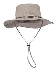 31227a0f51d Men With Wide Brim Sun Fishing Bucket Hat (Khaki) 30th floor http