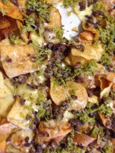 """The Wine and Cheese Place: Raclette and Billy Goat Potato Chip """"Nachos"""""""