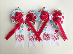 horse show bows - Google Search