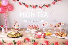 high tea party - Google Search