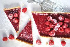 christmas raspberry tart <3