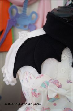 Bat Wing scarf by CuteCandyClouds on Etsy