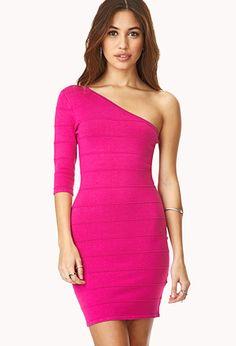 Crochet-Paneled Open-Shoulder Dress | Forever 21 - 2049257354 ...