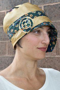Patron et tutoriel pour cravate chapeau Cloche femme par LuluBeas