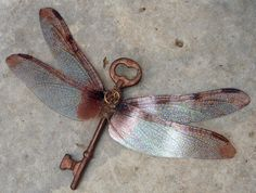 dragonfly key. <3 Think someone could make this for me?