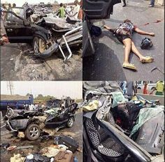 OnyiStarGist: Photos: Two dead others injured in ghastly acciden...