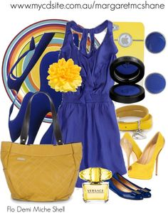 """""""Flo Demi Miche Shell"""" by mcshanes on Polyvore"""