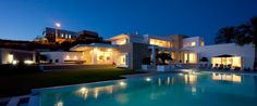A luxuruy holiday villa in the Sea Caves area of Paphos, Cyprus.