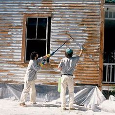 Exterior painting learn how to prepare the exterior of - Tips on painting exterior of house ...