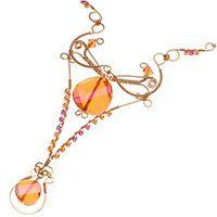 Ambrosia Necklace - wire wrapping tutorial - beadaholique.com