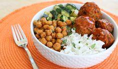 Masala Rice Bowl with Garbanzo Beans