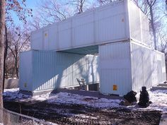 How to Convert Five Shipping Containers Into a Cozy Modern Home