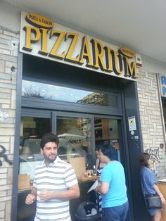 Pizza nos arredores do Vaticano