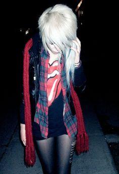 Grunge style x