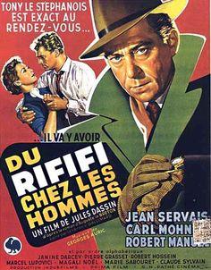 """Du rififi chez les hommes"", aka ""Rififi"", crime film by Jules Dassin (France, 1955)"