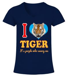 TIGER Animals Lover  Funny Tiger T-shirt, Best Tiger T-shirt