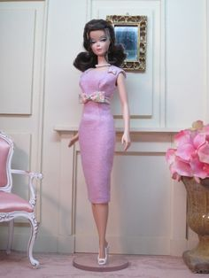Two Martini Lunch in Orchid Silk Noil by Bellissimacouture on Etsy