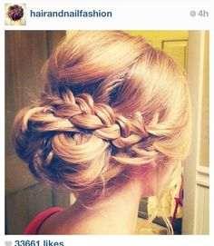 possible hair for carly's wedding