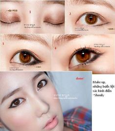 I'm asian and many other asian people always tell me my eyes are so big and pretty (because I have a double lid) I've tried using ulzzang eyeliner style and it makes my eyes look kinda weird because it's more of a technique for monolids. Gaaahhh it's frustrating