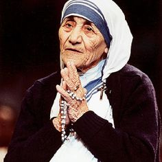 If you want a love message to be heard, it has got to be sent out. To keep a lamp burning, we have to keep putting oil in it.  Mother Teresa.
