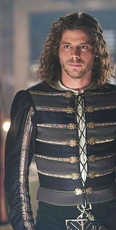 That glare...  Francois Arnaud as Cesare Borgia