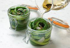 Pickels préparés à froid Apprenez à réaliser la recette despickels préparés à froid