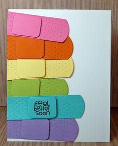 Cards-by-the-Sea: Mid Week Crafting Update Homemade Greeting Cards, Greeting Cards Handmade, Homemade Cards, Cricut Cards, Stampin Up Cards, Diy Cards Tutorial, Feel Better Cards, Tarjetas Pop Up, Scrapbook Cards