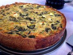 kesäkurpitsa-pinaatti-fetapiirakka / zucchini spinach and feta pie (gurmee) Savory Pastry, Savoury Baking, Feta Cheese Nutrition, Good Food, Yummy Food, Salty Foods, Spinach And Feta, Greens Recipe, Savory Snacks