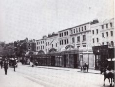 Harrods, 1892. In 1834, Charles Henry Harrod set up a wholesale grocers in Stepney, in London's East End, special interest in tea; in1849 he took over a small shop in new district of Knightsbridge (on site of current store) to escape filth of inner city and capitalize on trade from The Great Exhibition of 1851 in nearby Hyde Park.